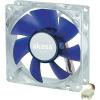 Akasa Számítógép ventilátor, csendes, kék, 80 mm, Akasa