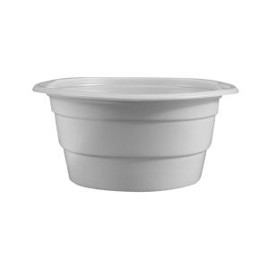 Műanyag gulyás tányér, 750 ml