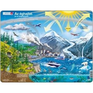 Larsen Maxi puzzle - Az éghajlat és az üvegházhatás