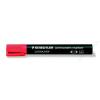 STAEDTLER Alkoholos marker, 2 mm, kúpos, STAEDTLER Lumocolor 352, piros (TS3522)