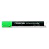 STAEDTLER Alkoholos marker, vágott, STAEDTLER Lumocolor 350, zöld (TS3505)