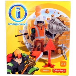 Mattel Fisher Price Imaginext Városi kaland - építőmunkás