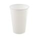 Műanyag pohár, 3 dl, fehér