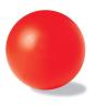 Stresszlevezető labda, piros