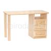 Teirodád.hu MOB-823J 3-fiókos konténeres fenyő íróasztal (jobbos)