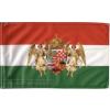 Nemzeti színű barna angyalos zászló 60x90 cm