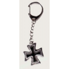 Vaskereszt kulcstartó (3,5x3 cm)