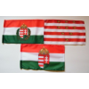 3 db kis zászló (15x25 cm) II.