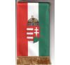 Asztali nemzeti címeres zászló 15X26,5 cm dekoráció