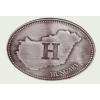 Ón Magyarország H-betűs ovális hűtőmágnes (10X7 cm)