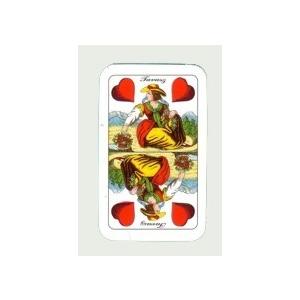 Magyar mini kártya (3,5X6 cm)