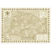 Antik Szent Korona 96x68 cm Ívben, fóliázva