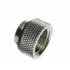 Bitspower Adapter G1/4 - G1/4 - fényes ezüst