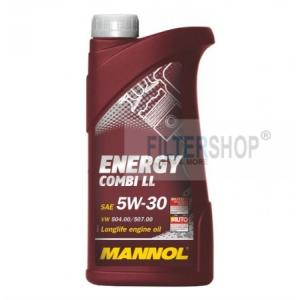 Mannol Motorolaj MANNOL Energy Combi LL 5W-30 1 L