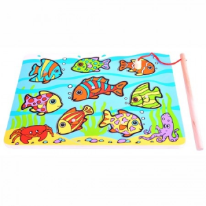 Trópusi mágneses halas puzzle