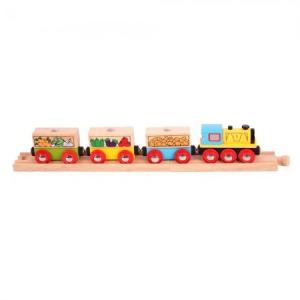 Zöldség és gyümölcs vonat