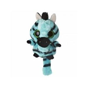 YooHoo Zebra plüss kék - 12,5 cm