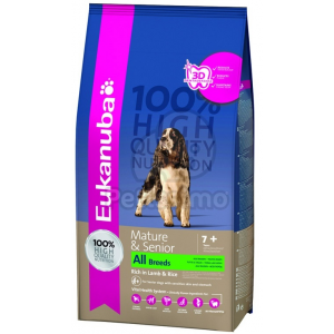 Eukanuba Mature & Senior Rich in Lamb & Rice 2,5 kg
