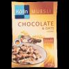 Kölln Teljes kiőrlésű zabpehelyből készült müzli 375 g csokoládés