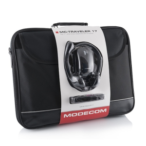 "Modecom 15,6"" 3in1 Traveler - Táska-Egér-Headset"