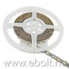 Whitenergy  5m 5050 60db/m 14.4W/m 12V 3000K csatl. nélkül, m.fehér LED szalag