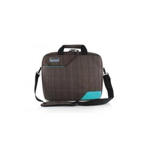 """Modecom ModeCom Notebook Táska 15,6"""" - Montana (barna-kék; külön rekeszek; vállpánt)"""