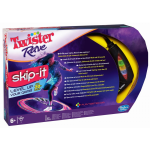 Hasbro Twister Rave Skip-it tánckarika