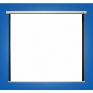 VICTORIA Vetítővászon, fali, rolós, 1:1, 175x180 cm, VICTORIA