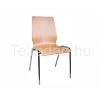 Teirodád.hu ANT-1158LC fémvázas szék rétegelt falemez ülőlappal