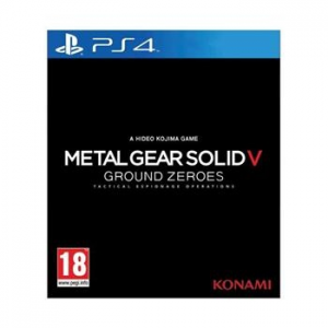 Konami Metal Gear Solid 5: Ground Zeroes - PS4