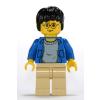 LEGO Harry Potter minifigura kék felsőben