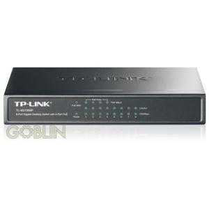 TP-Link Switch 8x1000Mbps ebből 4 port POE SG1008P