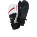 Ziener Gerwo AS Lobster síkesztyű fehér/fekete 9