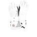 Ziener Malena AS snowboard kesztyű fehér 7