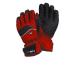 Ziener Grollu GTX síkesztyű fekete/piros 9