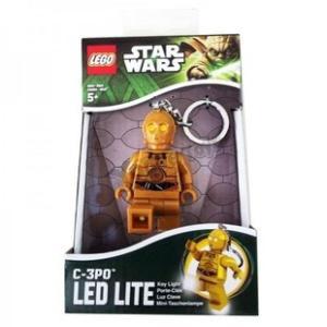 Lego Star Wars világító kulcstartó C3PO
