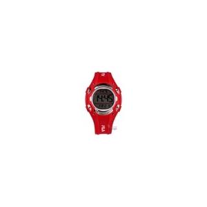Fila FA1017-04 piros karóra, quartz szerkezet digitális kijelző