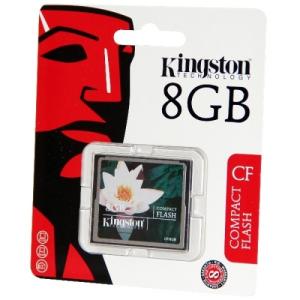 Kingston 8GB CompactFlash Card Kingston