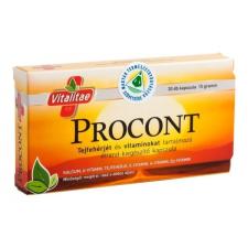 Vitalitae Vitalitae Procont kapszula 30db gyógyhatású készítmény