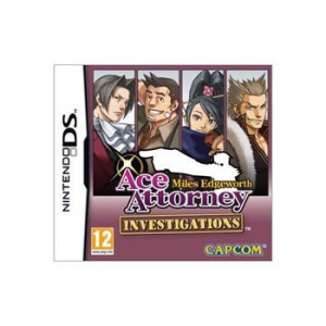 Capcom Ace Attorney Investigations: Miles Edgeworth - NDS