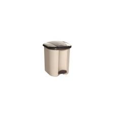 CURVER Pedálos szemetes, műanyag, 15 l, CURVER, bézs-barna szemetes