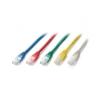 Equip 805523 UTP Cat6 patch kábel, 0,25m (piros) kábel és adapter