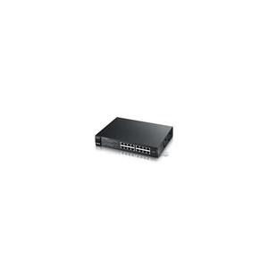 ZyXEL ES1100-16P 16 10/100Mbps LAN nem menedzselhető PoE Switch