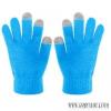 CELLY érintőképernyős készülékekhez kesztyű,Kék