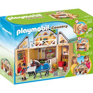 Playmobil Playmobil 5418 Hordozható lovas istálló