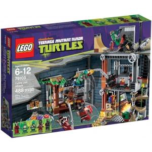 LEGO LEGO Ninja Turtles Támadás a teknős barlangjába 79103