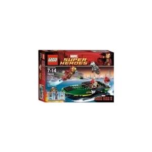 LEGO LEGO Super Heroes Iron Man Extremis kikötői csata 76006