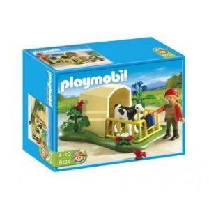 Playmobil Playmobil 5124 Borjúól és farmer