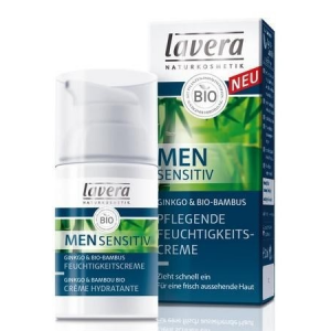 Lavera men sensitiv arckrém ginkgo-bamb. 30 ml