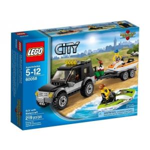 LEGO LEGO City 60058 Vontató autó és jet ski